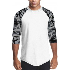 Raglan Sleeve Baseball T-shirt